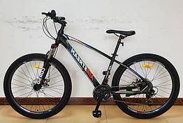 Велосипед спортивный с 27.5 дюймовыми колесами, Shimano 21 скорость, алюминиевая рама, Corso AirStream 21919