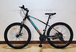 Велосипед спортивный с 27.5 дюймовыми колесами, Shimano 21 скорость, алюминиевая рама, Corso AirStream 31606