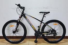 Велосипед спортивный с 27.5 дюймовыми колесами, Shimano 21 скорость, алюминиевая рама, Corso AirStream 57167