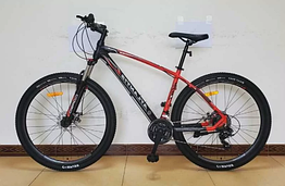 Велосипед спортивный с 29 дюймовыми колесами, Shimano 21 скорость, алюминиевая рама, Corso Atlantis 79725