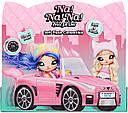 Машина для куклы На На На Кэтмобиль Na Na Na Surprise Soft Plush Convertible , Kitty Car 572411, фото 2