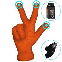 Перчатки iGlove Orange для сенсорных экранов