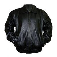 Куртка кожаная Rothco Marines Black, фото 1