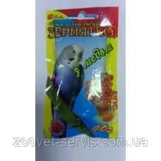 Витаминная добавка для попугаев с медом Зернышко 40гр