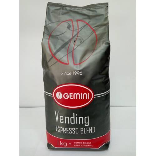Кофе в зернах Gemini Espresso Vending, Украина Джемини зерно