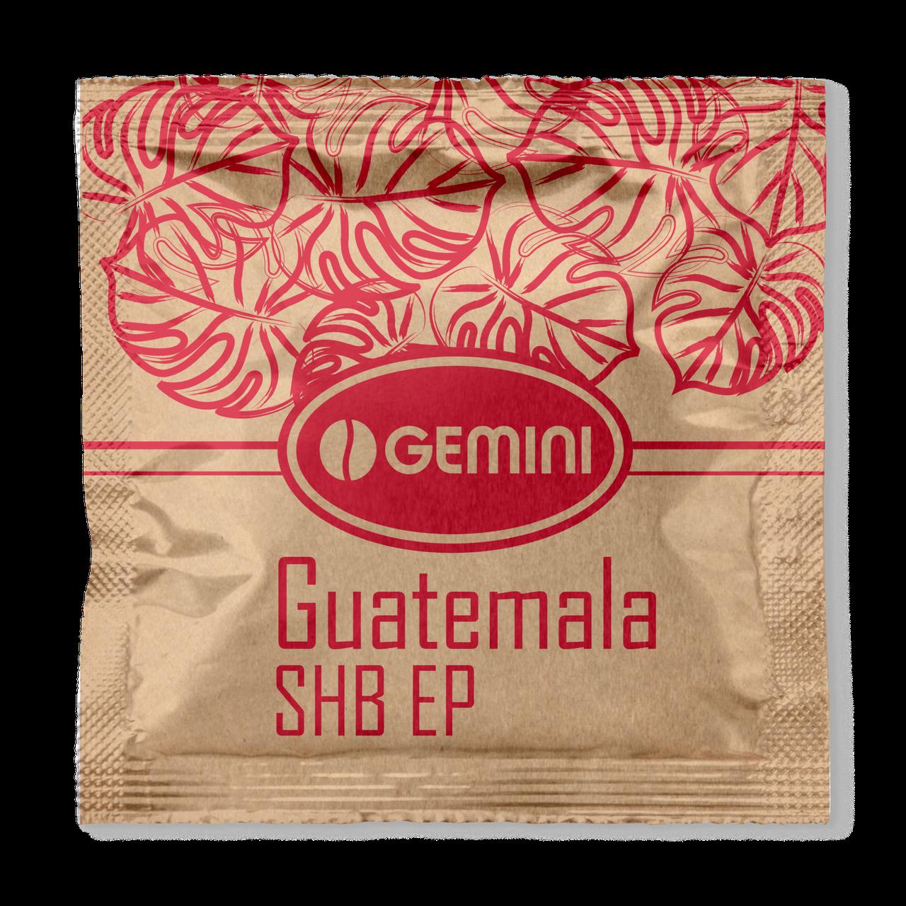 Кофе в чалдах (монодозах) Gemini Guatemala 100 шт. Украина