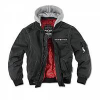 Куртка трансформер с капюшоном Dobermans Aggressive DVS Conversion Black, фото 1