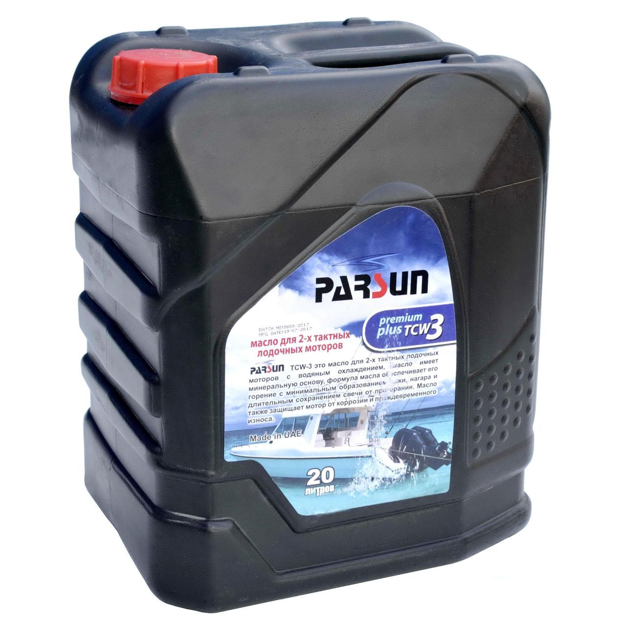 Масло PARSUN 2-х тактное TCW3 Premium Plus 20 литров