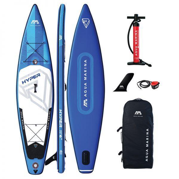Доска SUP Aqua-Marina Hyper — Touring iSUP, 3.5m/15cm БЕЗ ВЕСЛА