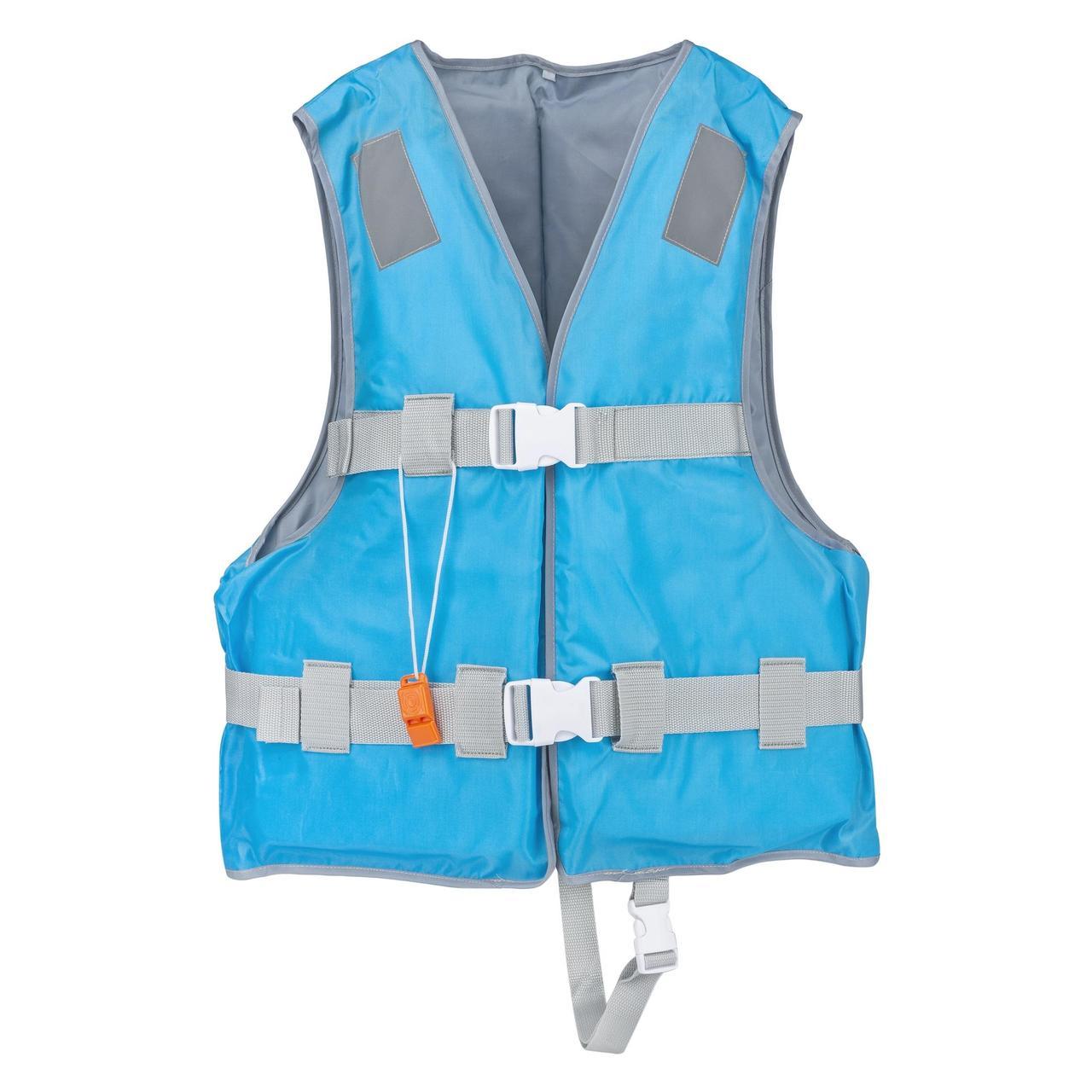 Спасательный жилет YW1218 размер M EPE пена и 420D полиэстер, синий
