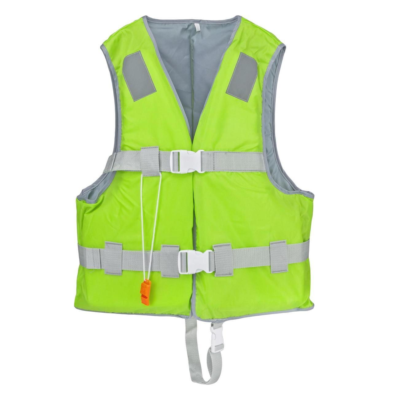 Спасательный жилет YW1218 размер XXL EPE пена и 420D полиэстер, зеленый