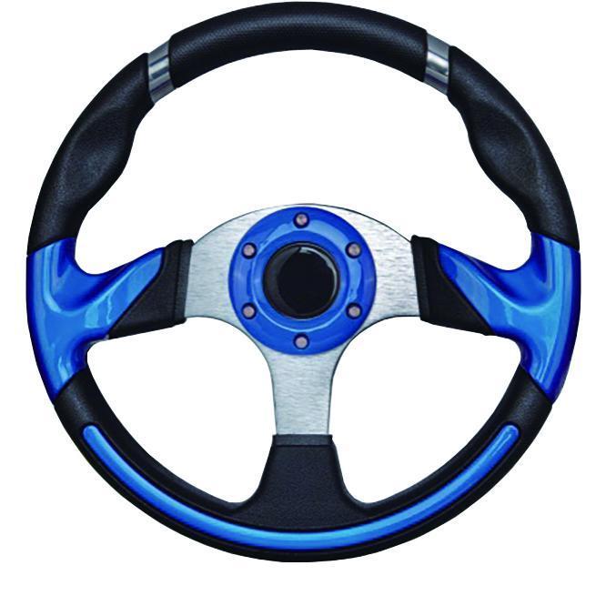 Рульове колесо 13.5 алюміній-сріблясто-синє ААА Тайвань