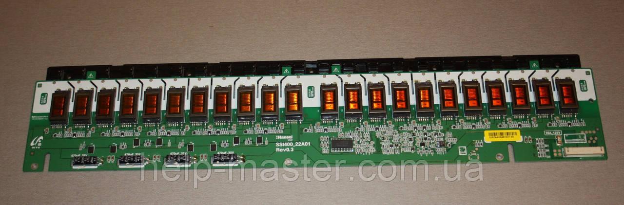 Инверторы для ЖК ТВ SSI400_22A01 Rev0.3