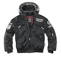 Куртка с капюшоном Dobermans Aggressive Flight Division Black, фото 1