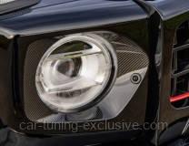 LUMMA headlight surround carbon fibre suitable for Mercedes G-class G63 W463A