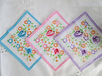 Носовые платочки женские