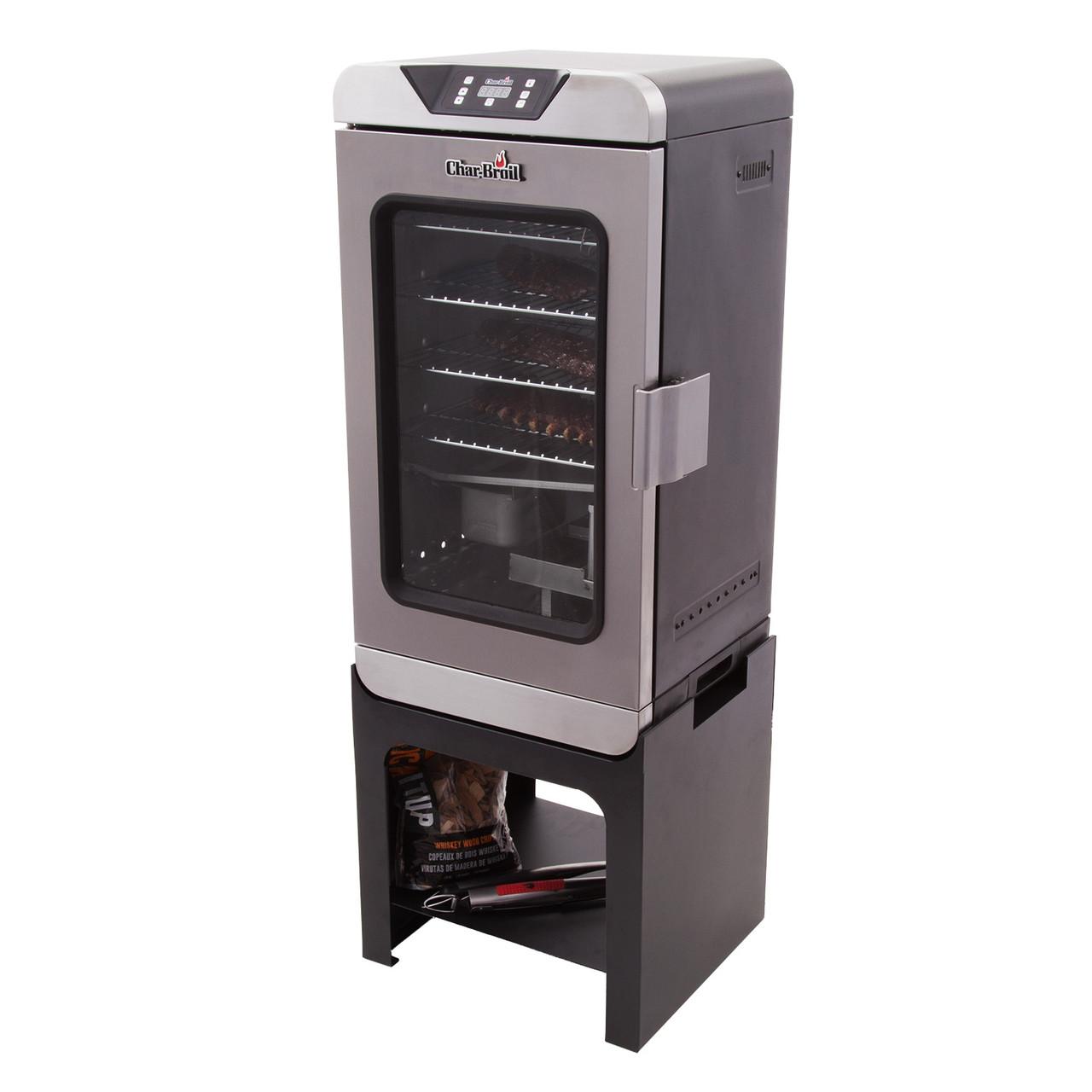Підставка для електричної коптильні Char-Broil Deluxe Digital Electric Smoker
