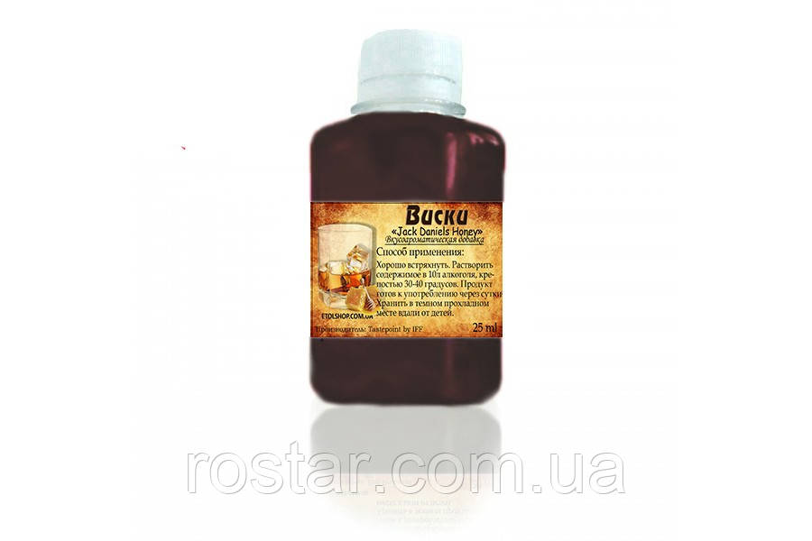 Ароматизатор-Концентрат Віскі «Jack Daniels»Медовий Etol Frutarom (25мл)