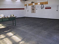 Модульная плитка ПВХ для гаража