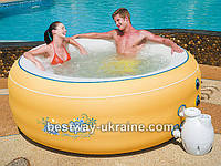 Надувной бассейн спа с аэромассажем Bestway LAY-Z-SPA 54101