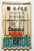 K-File 25мм, уп.6шт, №035, Dentsply Maillefer