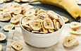 Банановые чипсы 200г Вьетнам, натуральные сушенные колечками, фруктовые чипсы, фото 2