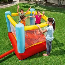 Надувний ігровий центр для дітей Bestway 93549 200x170x152 см Fisher-Price Дитячий надувний батут бествэй, фото 3