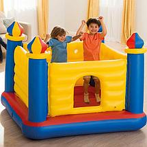 Надувной игровой центр Замок для детей Intex 48259 200x170x152 см Jump-O-Lene Детский надувной батут интекс, фото 2