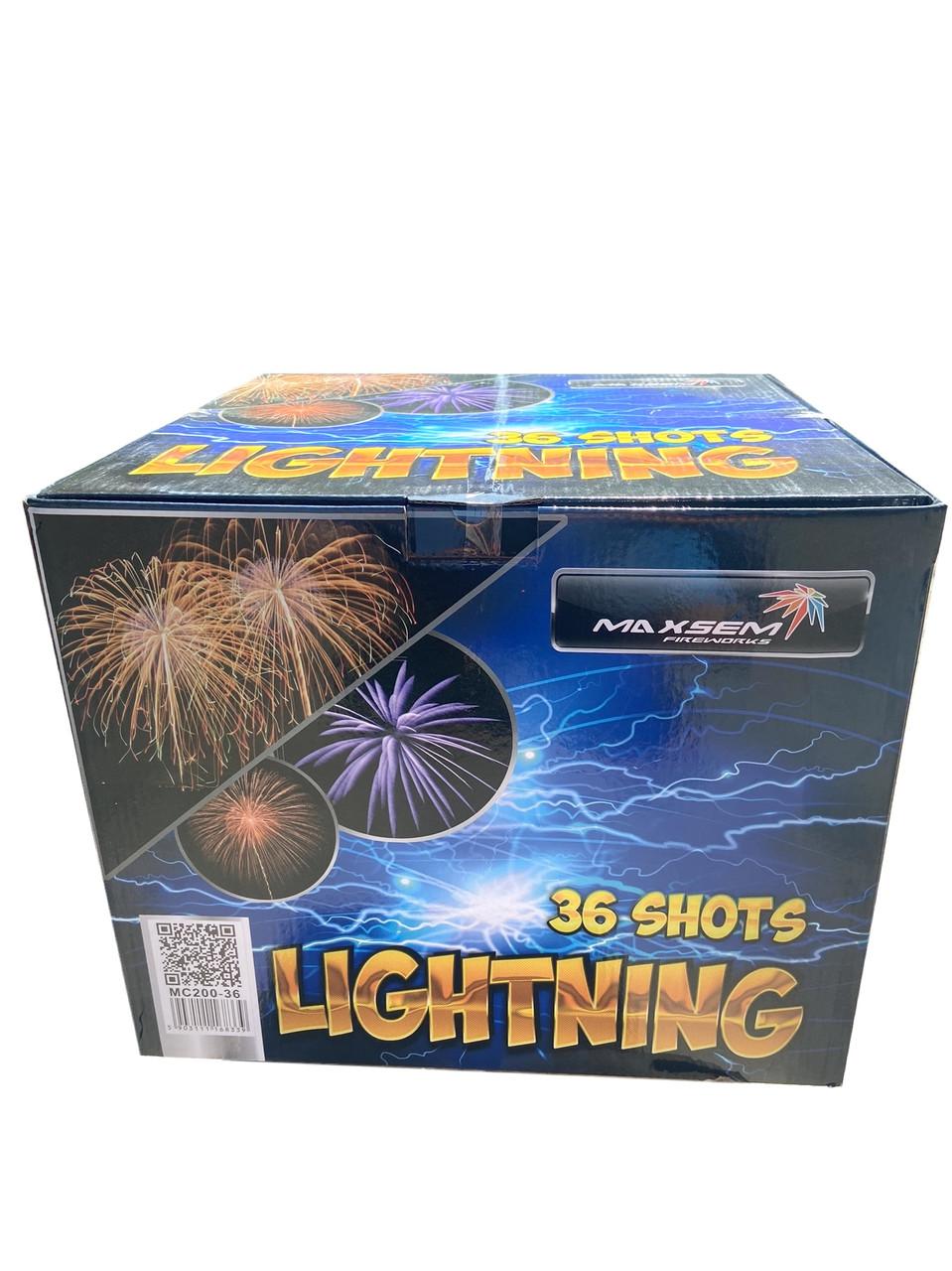Салют Lightning Maxsem MC200-36, 36 пострілів 50 мм