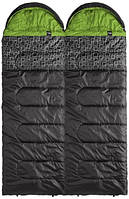 Теплый спальный мешок Caribee Moonshine Twin Set / 7°C Twin Set / 7°C 921809 серый