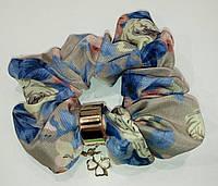 Резинка шифон с кольцом 2, фото 1