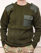 Формений в'язаний светр ХАКІ (7 клас)