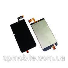 Дисплей HTC Desire 300+сенсор чорний