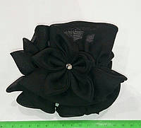 Резинка шифон с цветками и стразами, фото 1