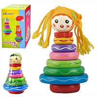 Деревянная игрушка Пирамидка MD 0133