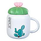 """Чашка """"Кактус"""" 400мл *рандомный выбор дизайна , фото 10"""