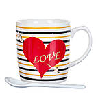 """Чашка """"Серце"""" 200 мл *рендомний вибір дизайну, фото 4"""