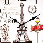 """Часы """"Путешестиве по Парижу"""" (29см), фото 3"""