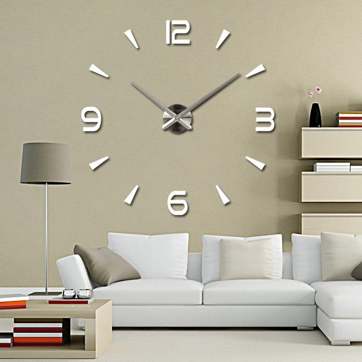 Большие настенные 3Д часы ( от 60 до 120 см)