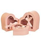 """Набор коробок """"Признание"""" 3 шт, розовый, фото 3"""
