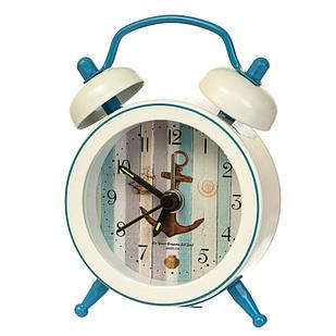 """Часы-будильник """"Морская символика"""" (рандомный выбор дизайна)"""