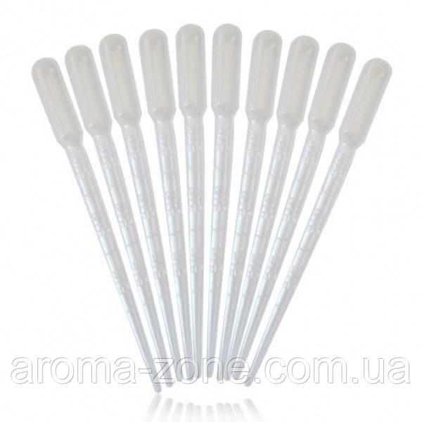 Набор пластиковые пипетки 3 мл( 10 шт.)