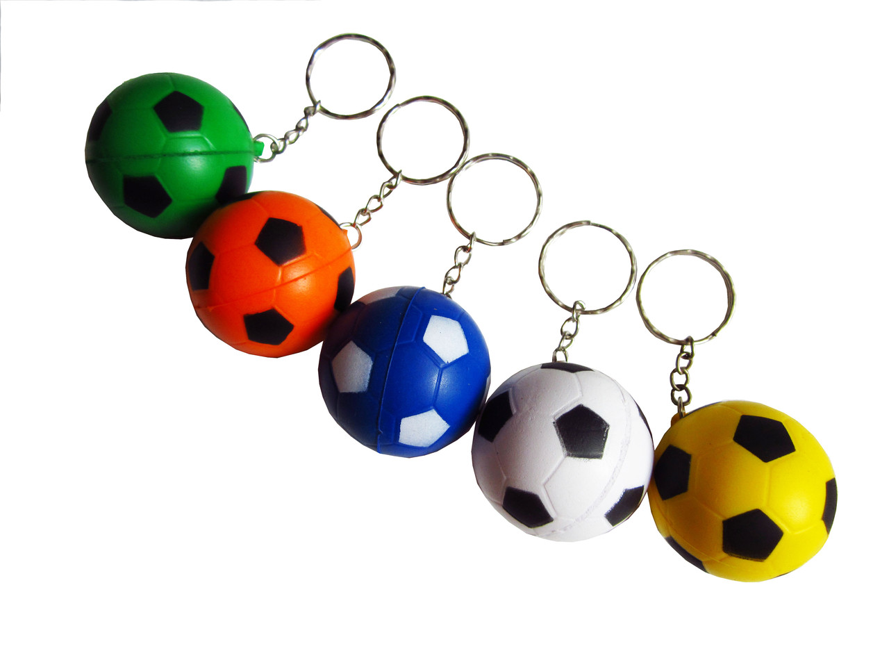 Брелок мяч футбольный (mix)