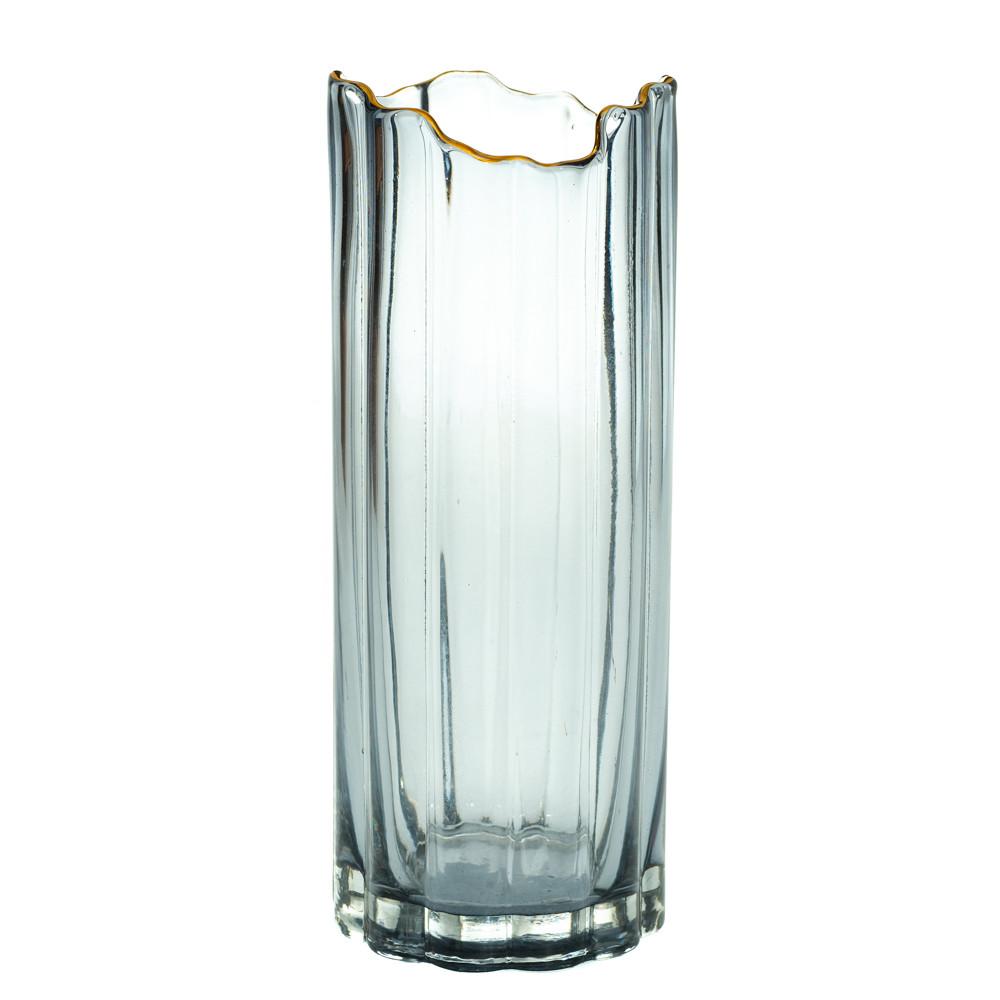 """Скляна ваза """"Туман"""", 30 см."""