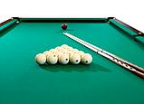 """Більярдний стіл для піраміди """"LUX CLASSIC"""", 7 футів, Ардезія, 200х100 см, TT BILLIARD, гарантія 2 роки, фото 3"""