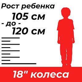 """Детские велосипеды 18"""""""