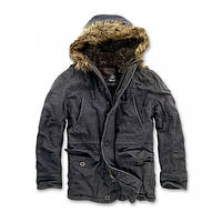 Куртка Brandit Vintage Explorer Black, фото 1
