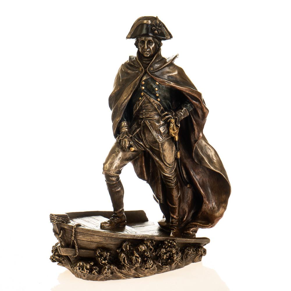"""Статуэтка из полистоуна под бронзу  """"Наполеон"""""""