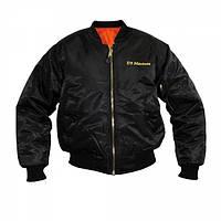 Куртка Rothco MA-1 Flight Jacket Marine Emblem Black, фото 1