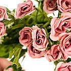 """Квітковий букет """"Темно-рожевий"""", фото 2"""